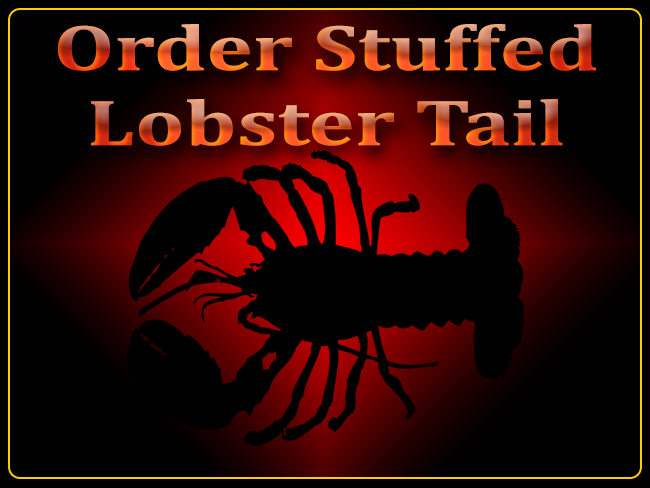 Order crab stuffed lobster tails here